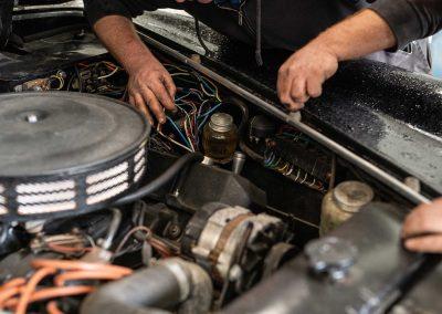 Mécanique automobile de collection