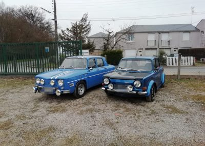 R8 et Simca 1000 rallye 2